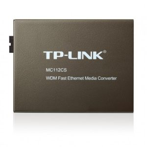 TPLINK WDM Fast Ethernet Media Converter MC112CS