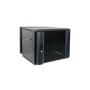INDO WALLMOUNT RACK 8U Depth 550mm, Double Door